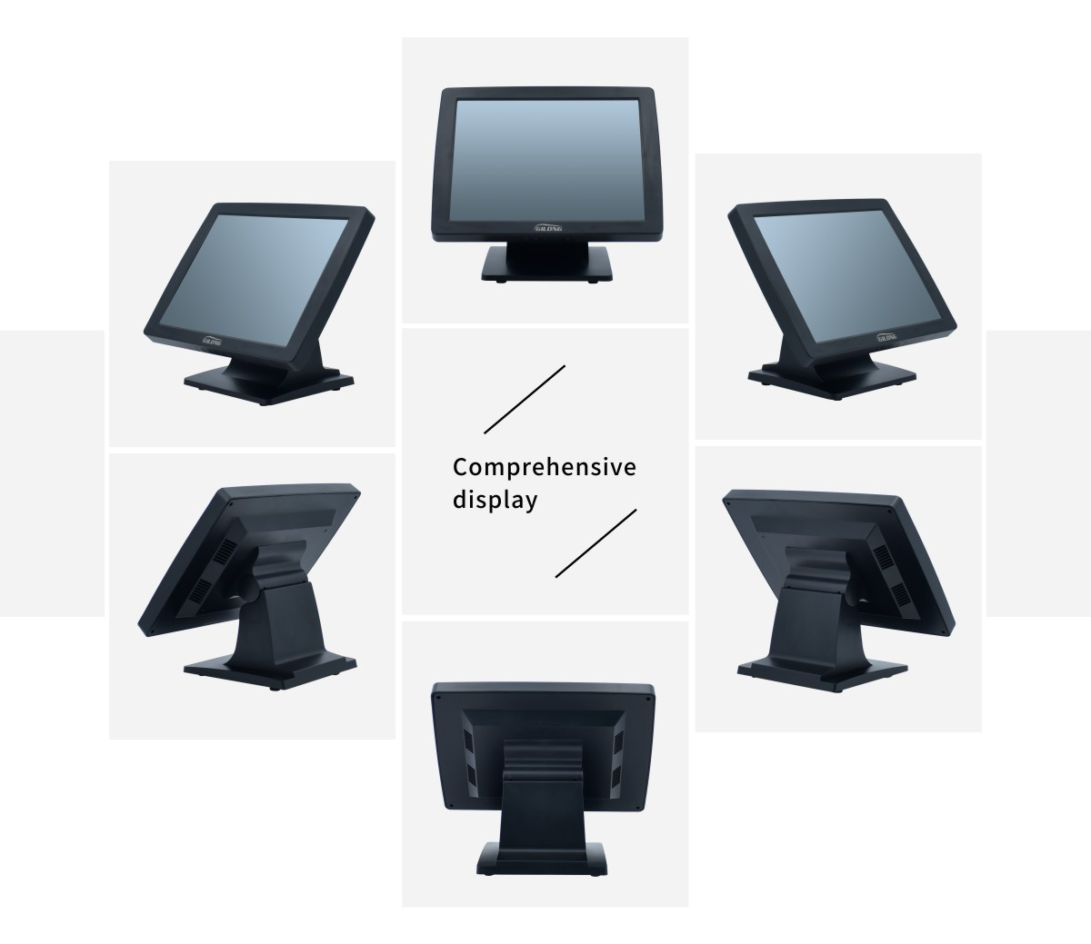 touch display for pos
