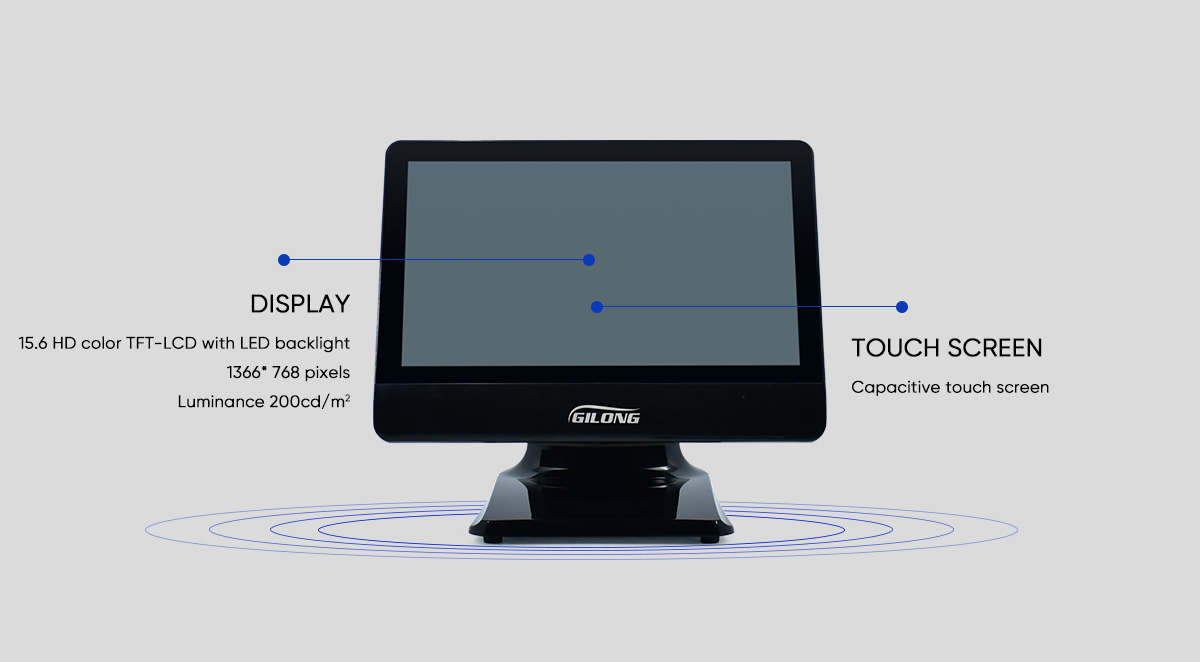 best capacitive touch screen cash register