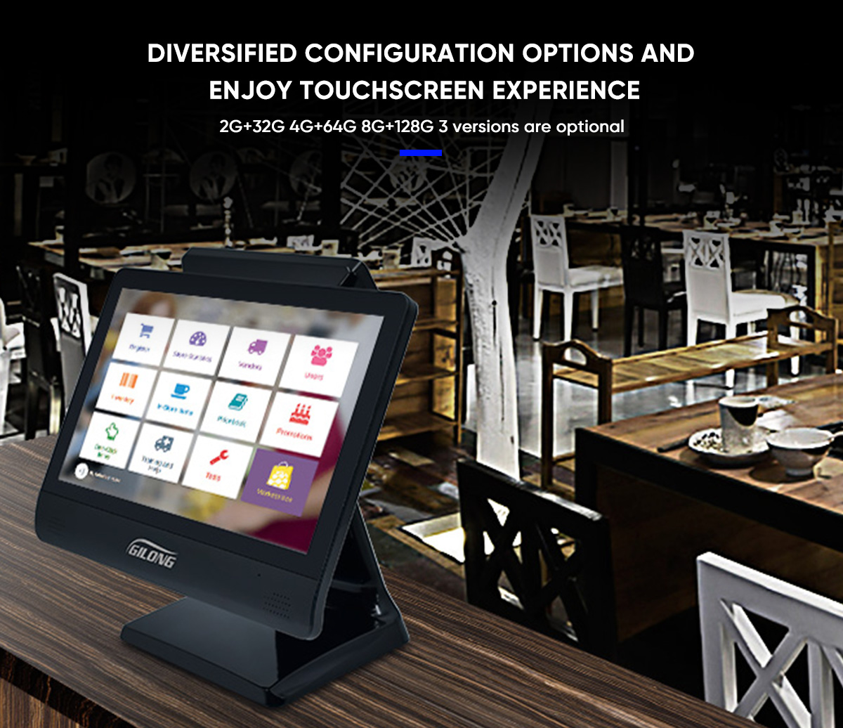 electronic point of sale terminal