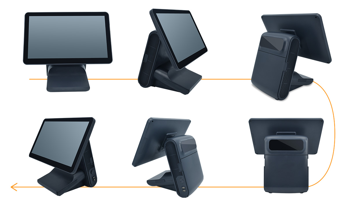 touch screen pos machine