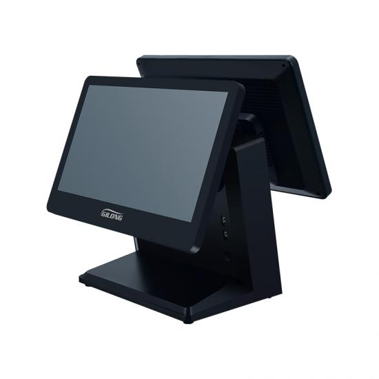 dual screen pos system