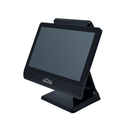 Bezel-free touch screen pos