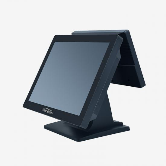 dual screen epos machine